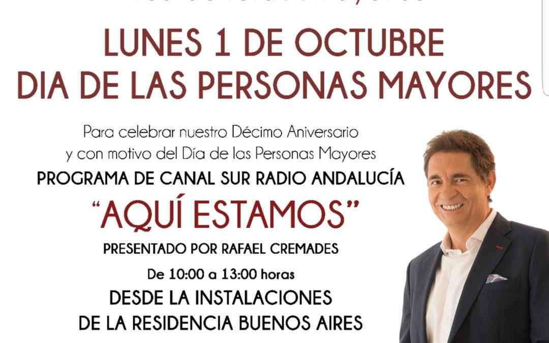 """""""AQUÍ ESTAMOS"""". CANAL SUR RADIO ANDALUCÍA"""